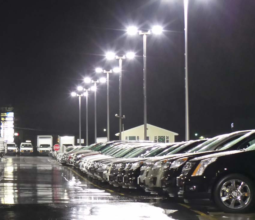 Replace 1000w Metal Halide Brightest Led Parking Lot